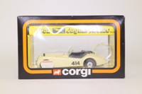 Corgi 804; Jaguar XK120 Rally des Alpes; Cream