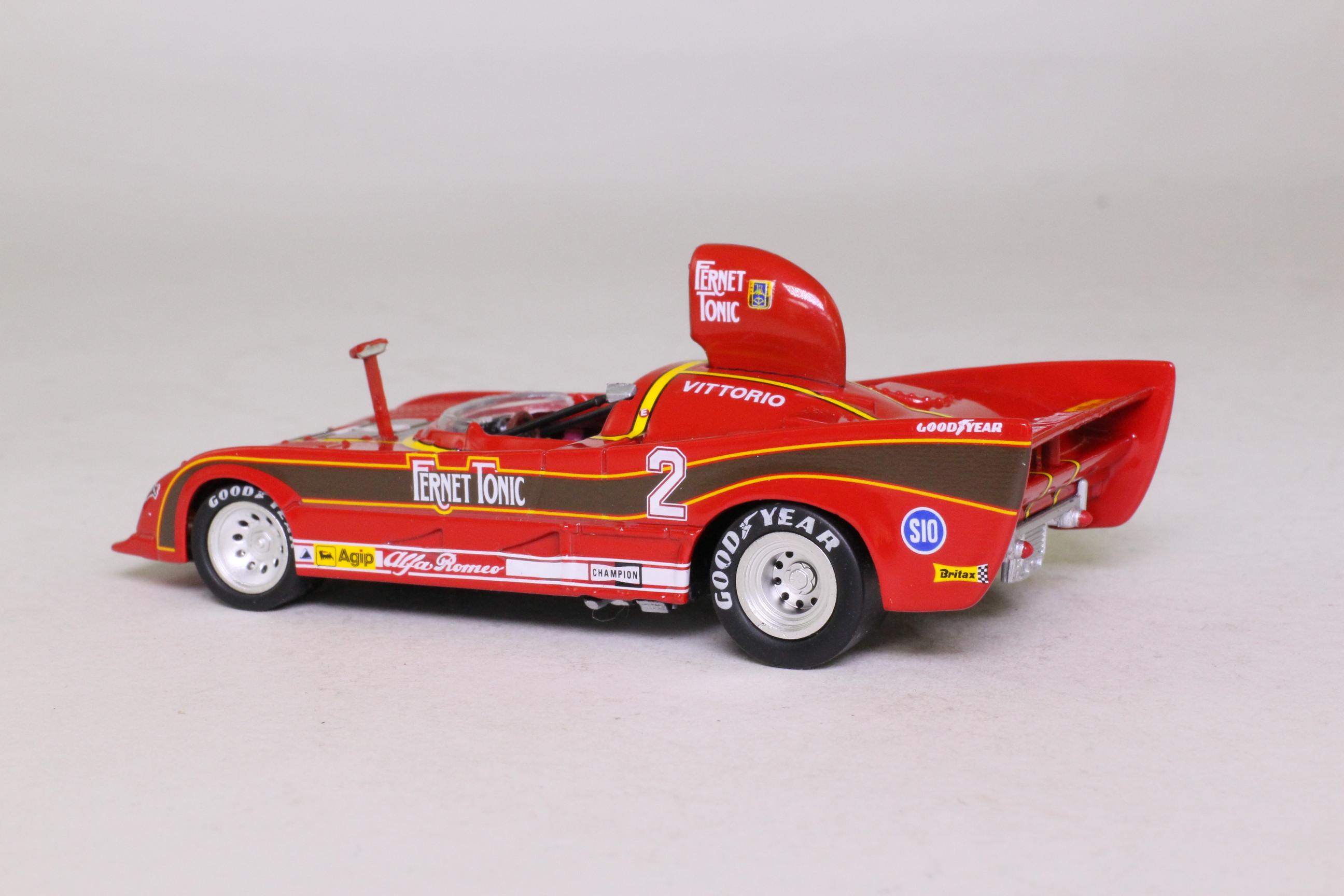 M4 2270; Alfa Romeo 33.3; SC Turbo; 1977 Monza; V Brambilla; RN2