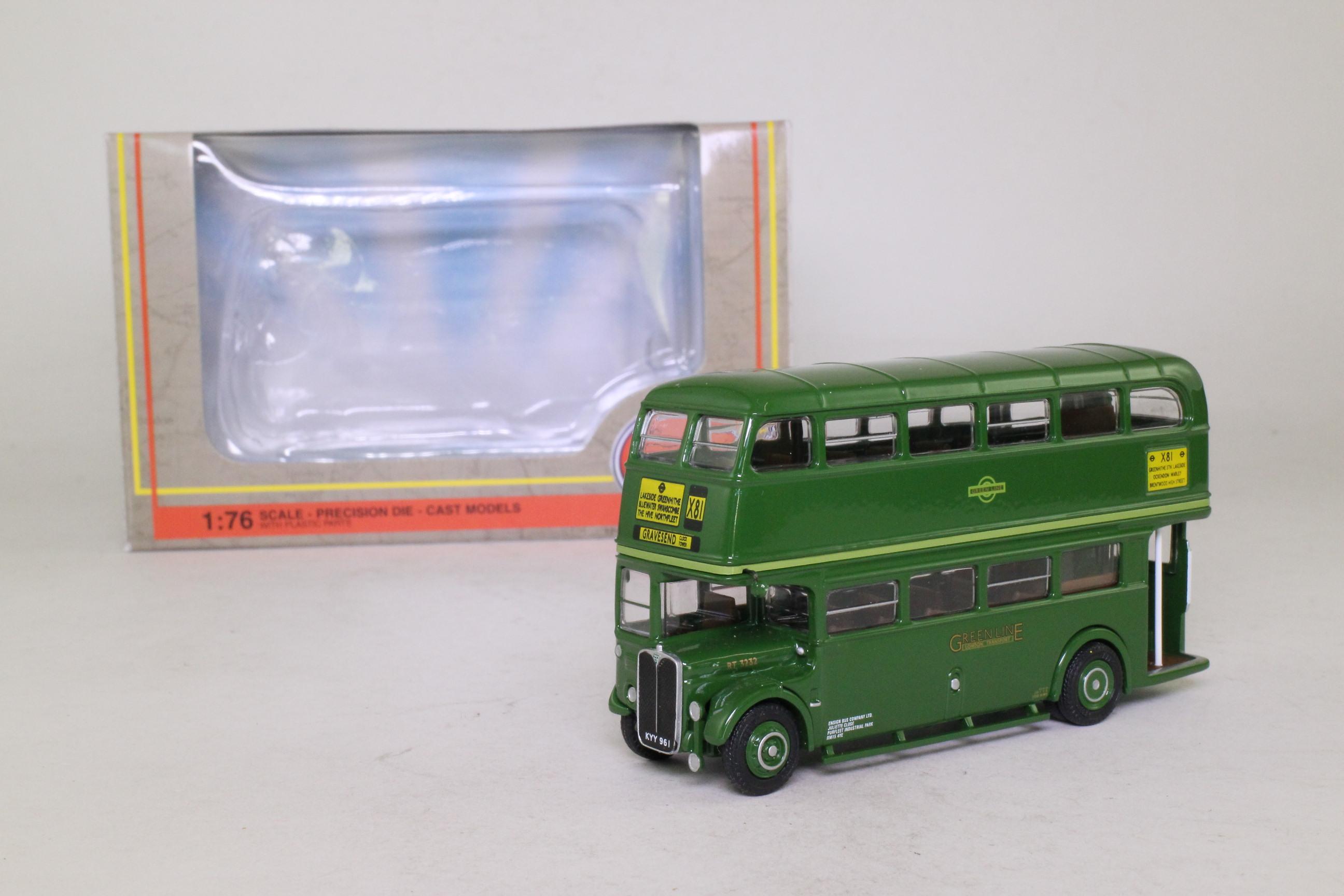 EFE 34109; AEC RT Double Deck Bus; Green Line; X81 Gravesend Clock Tower