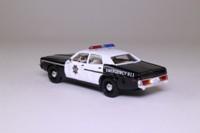 James Bond, Dodge Monaco Police Car; A View To A Kill; Universal Hobbies 55