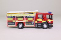 Atlas Editions; Scania CP28 Pump Ladder Fire Engine; Hertfordshire Fire & Rescue