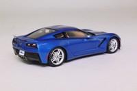 Spark S2973; Chevrolet Corvette C7; 2014; Metallic Blue