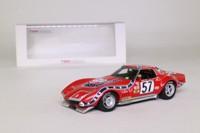 True Scale Model TSM124319; Chevrolet Corvette; 1972 12h Sebring 4th; Heinz & Johnson; RN57