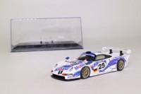Minichamps 430 966625; Porsche 911 GT1; Le Mans 96; Stuck/Boutsen/Wolleck; RN25