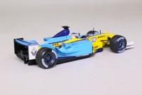 Minichamps 403 030007; Renault R23 Formula 1; 2003 German GP 3rd; Jarno Trulli; RN7