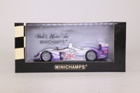 Minichamps 400 041328; Audi R8; 2004 12h Sebring 1st; Biela, Kaffer, McNish; RN28