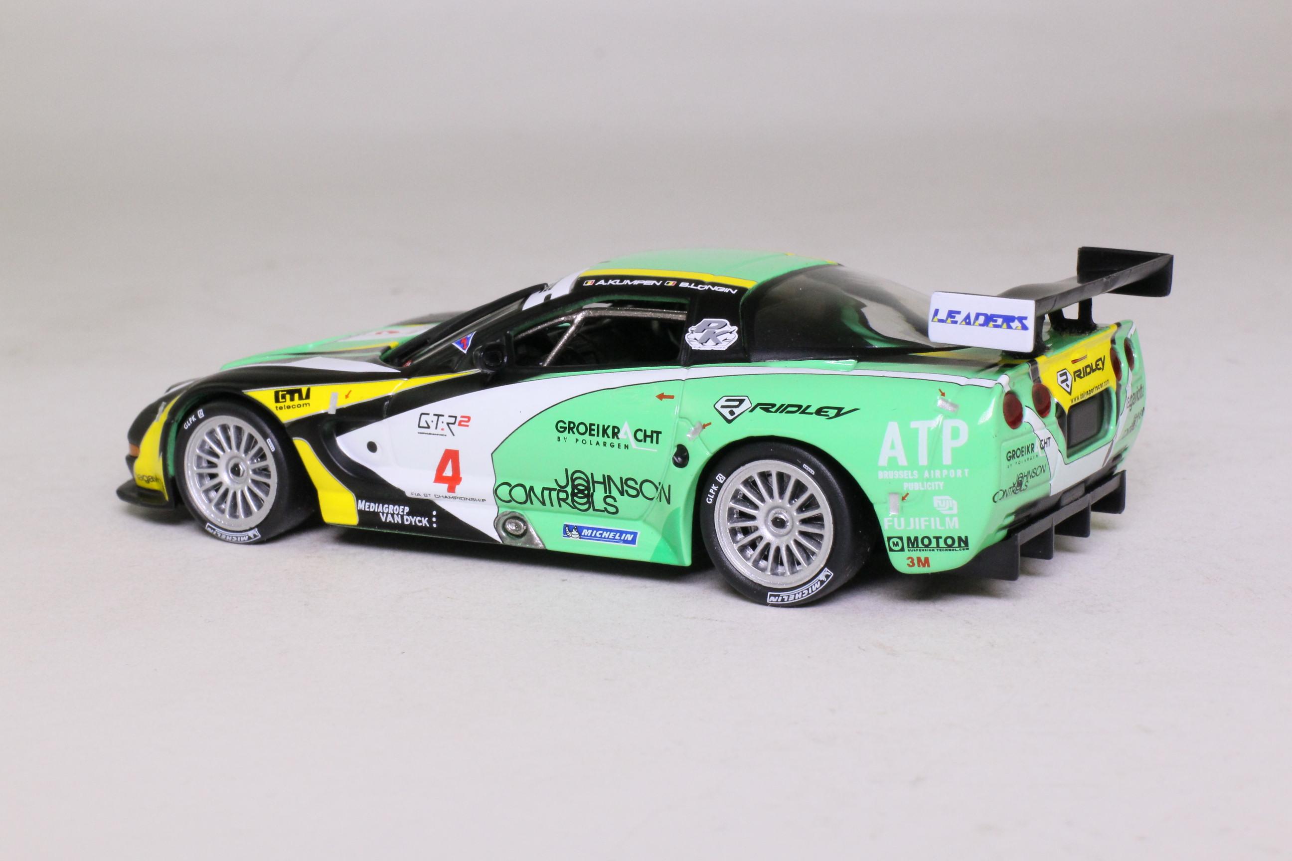 IXO; Chevrolet Corvette; 2007 Tourist Trophy 3rd; Kumpen & Longin; RN4