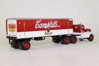 Matchbox Collectibles DYM38337; Peterbilt Conventional; Artic Box Trailer; Campbell's Soup