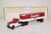 Matchbox Collectibles DYM38337; Peterbilt Conventional; Artic Box Trailer; Campbell's Soup