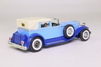 Models of Yesteryear Y-4/4; 1930 Duesenberg Model J Town Car; Pale blue & deep blue (made in Macau)