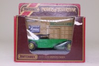 Models of Yesteryear Y-17/1; 1938 Hispano Suiza; Emerald Green, Dark Green Chassis