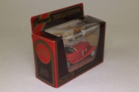 Models of Yesteryear Y-20/1; 1937 Mercedes-Benz 540k; Red in Diorama