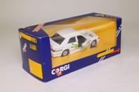 Corgi C386; Mercedes-Benz 190E 2.3 16; Saloon Car Racer, White, RN17