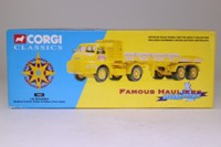 Corgi Classics 19802; Bedford S; Twin Axle Artic Flatbed With Pallets, JW Richards, Yellow