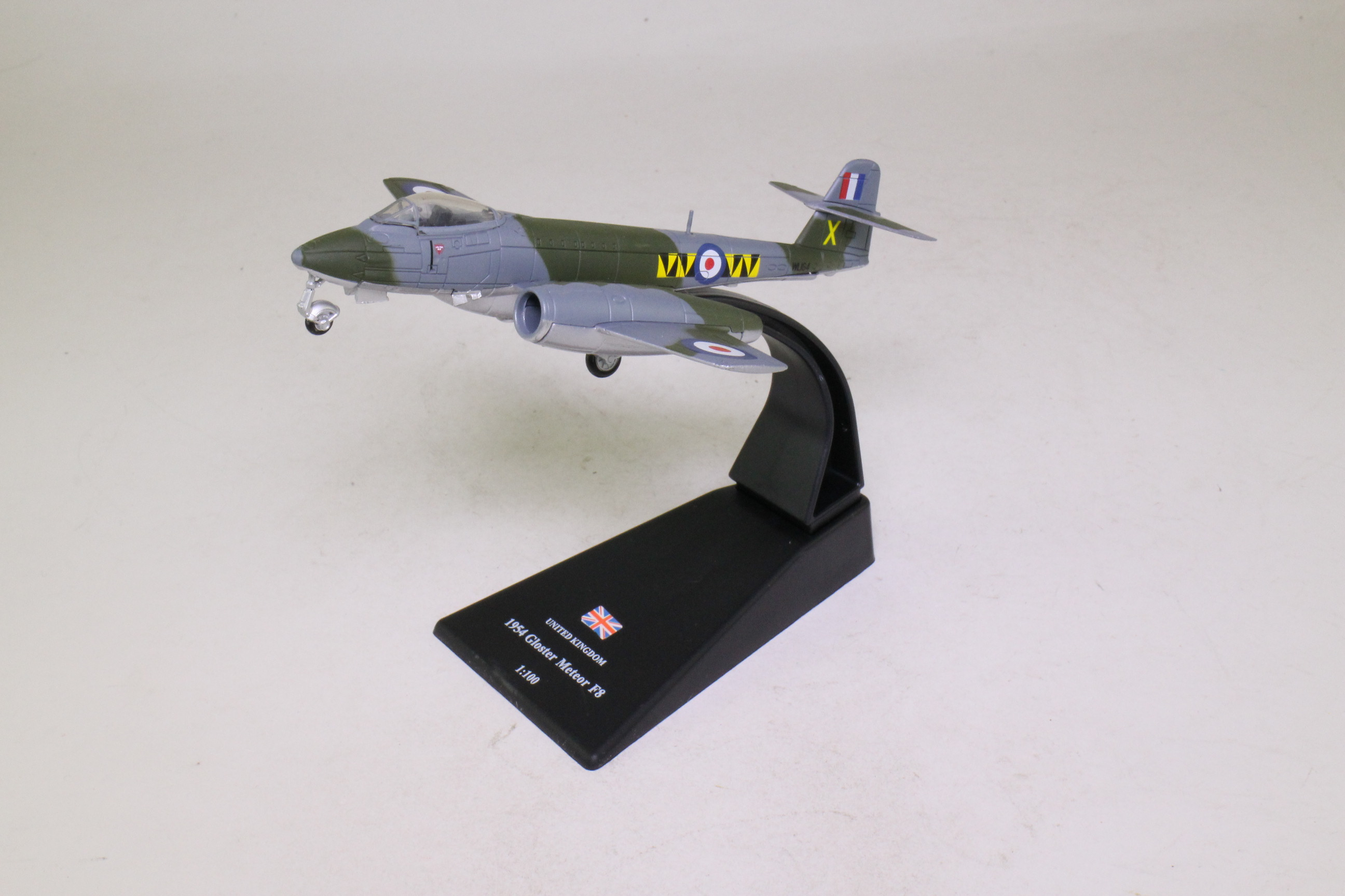 Amercom; Gloster Meteor Jet Fighter; RAF No74 Sqn; 1954