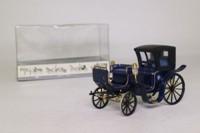 Brumm 21; Horse-Drawn 19th Cent. Four Wheeled Cab; Blue