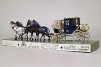 Brumm 013; 1850 Dress Chariot Coach & Horses; di Conte di Caledonia