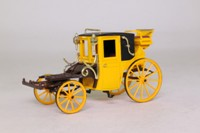 Brumm 04; 19 Cent Coupe Dormeuse Carriage; Yellow