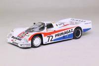 IXO; Porsche 962C; 1987 24h Le Mans 2nd; Lassig, Yver, de Dryver; RN72