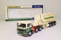 Corgi Classics 74904; ERF EC Artic; Powder Tanker: WR Wood (Haulage) Ltd