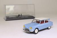 IXO; 1961 Citroen Ami 6; Light Blue & White