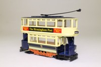Corgi Classics C992/7; Double Deck Tram, Closed Top, Open Platform; Birmingham Corporation; Lodge Rd