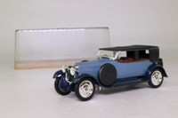 Solido 1162; 1926 Hispano Suiza Decouvrable; Closed Tourer, Two-Tone Blue
