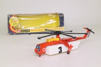 Corgi 922; Sikorsky Skycrane Helicopter; Casualty Helicopter