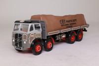 Corgi Classics 09701; ERF V; 8 Wheel Rigid Flatbed, ERF Parts Dept, Sheeted Load