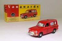 Vanguards VA4000; Ford Anglia Van; Royal Mail, Overseas Christmas Mail