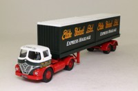 Corgi Classics 14301; Foden S21 Mickey Mouse; Artic Flatbed Containers Load; Eddie Stobart
