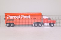 Matchbox Convoy CY104AAA; Ford Aeromax Artic; Box Trailer, Australia Post
