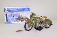 Schylling UPMS; Mailman's Motorcycle; American Postal Collection
