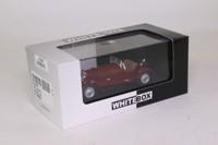 White Box 210278; 1930 Mercedes-Benz SSK; Dark Red