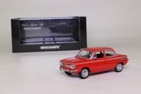 Minichamps 430 015304; 1967 NSU Prinz TT; Alfarot