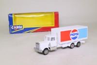 Corgi Small Scale 91160; Kenworth Truck; Box Van; Pepsi
