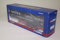 Corgi Classics CC19907; Curtainside Trailer; WH Malcolm Logistics
