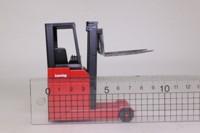 Conrad/ NZG; Lansing Fork Lift Truck; Red & Black