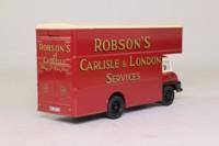 Corgi CC11002; Ford Thames Trader; Luton Van; Robson's of Carlisle