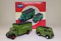 Corgi Classics 97200; BRS Parcels 2 Van Set; Bedford O Box Van & Morris J Van