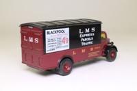 Corgi Classics 97120; Bedford O Series Van; LMS Express Parcels Traffic