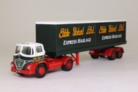 Corgi Classics 14303; Foden S21 Mickey Mouse; Artic Flatbed Containers Load; Eddie Stobart
