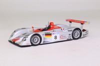 Minichamps 430 000908; Audi R8; 2000 24h Le Mans 1st; Biela, Kristensen, Pirro; RN8