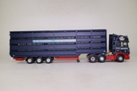 Corgi Classics CC12928; Scania Topline; Livestock Transporter; RW Stewart