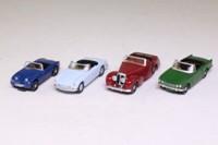 EFE 99637; Touring Cars, 4 Piece Set; Austin Healy Sprite, MGB, Trimph Vitesse, Triumph TR20