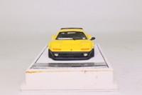Tecnomodel T-M122C; Ferrari 512 BB; Presentation Corsa Clienti; Yellow