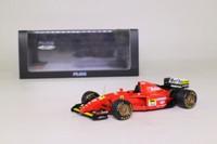 True Scale Model TSM11FJ012; Ferrari 412 T2 Formula 1; 1995 Canada GP 1st; Jean Alesi; RN27