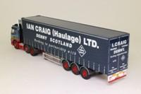 Corgi Classics CC13512; Volvo FM; Artic Curtainside, Ian Craig (Haulage) Ltd, Denny, Scotland