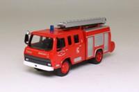 del Prado 1980 Fourgon Pompe Tonne Berliet 770KB 6 Fire Engine; Red