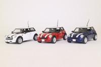 Corgi Classics CC99138; The New Italian Job Set; 3x BMW Mini, Red, White & Blue